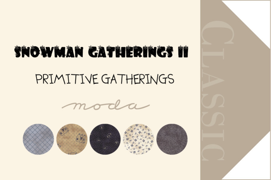 Moda Snowman Gatherings II Fabric