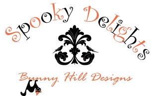 Moda Spooky Delights Fabric