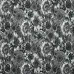 RJR Flower Power Tie-Dye Floral Black Fabric