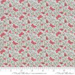Moda Le Beau Papillon Aricia Blue Dust Fabric by French General