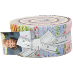Moda Guernsey Jelly Roll by Brenda Riddle of Acorn Quilts
