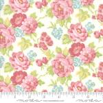 Moda Bramble Cottage Cottage Bouquets Linen Fabric by Brenda Riddle Designs