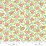 Moda Bramble Cottage Bramble Of Roses Linen Fabric by Brenda Riddle Designs