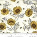 Moda Bee Grateful Parchment Fabric by Deb Strain