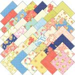 Moda Aloha Girl Charm Pack, 42 5-inch Cotton Fabric Squares