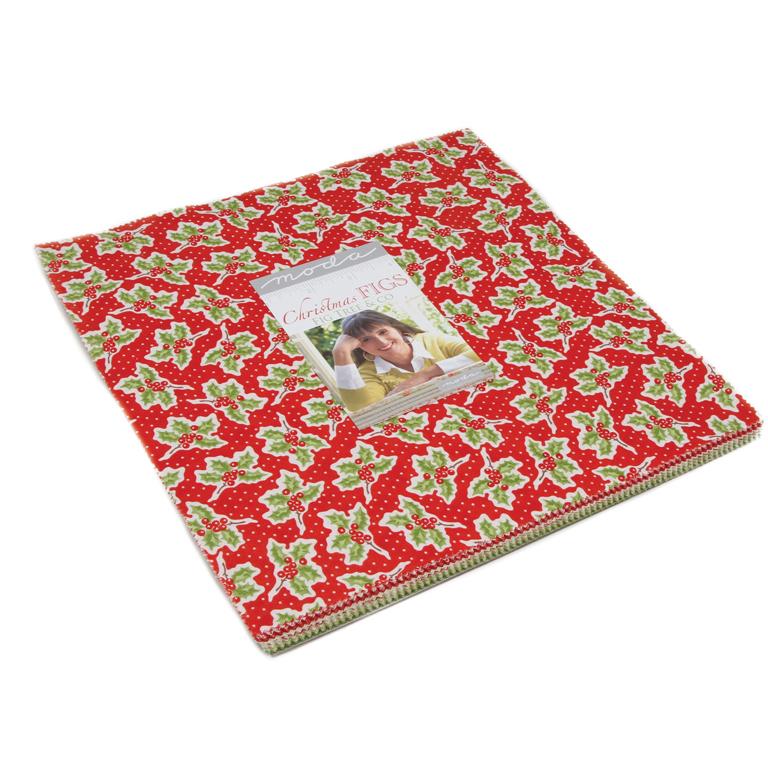 Moda Christmas Fabric 2019.Moda Christmas Figs Layer Cake By Fig Tree Co 20310lc
