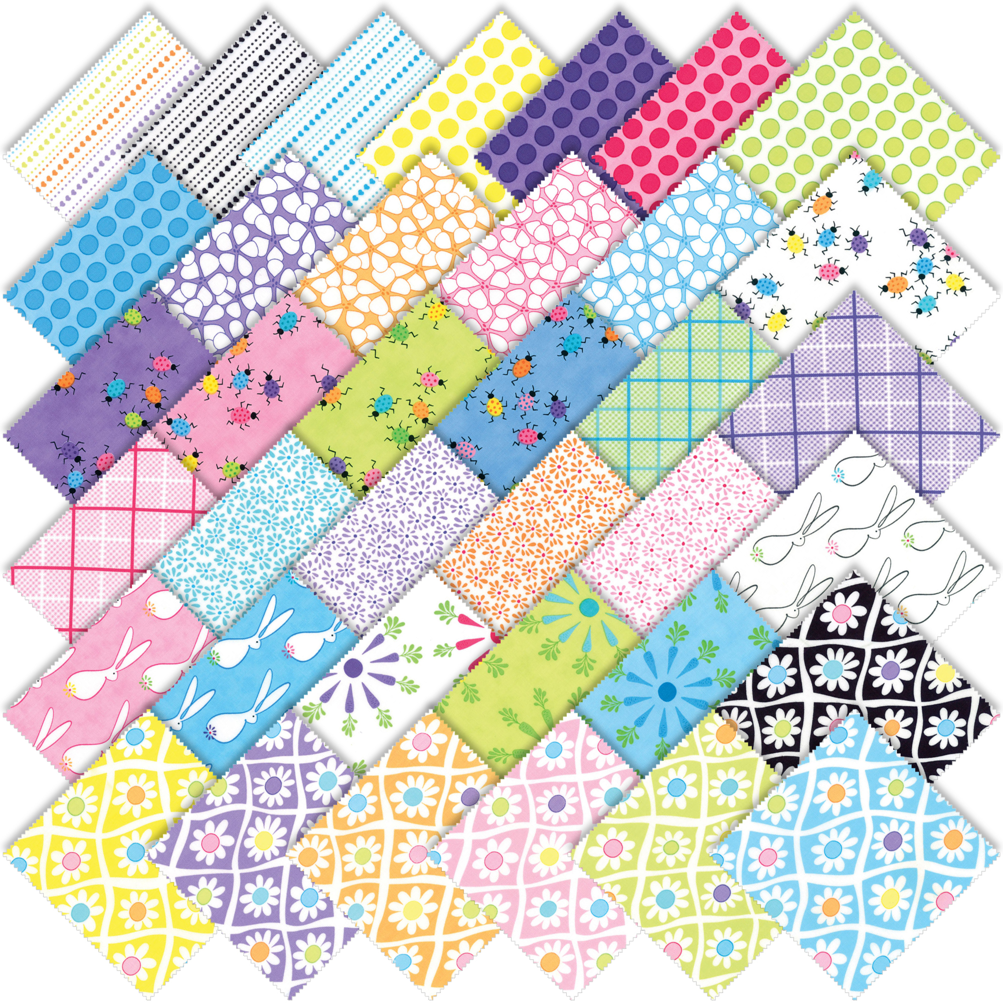 Moda 4.99 Shipping in the U.S For One Week Me and My Sister Designs Good Day Fat Quarter Bundle 37 Skus