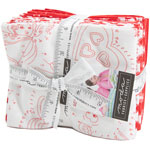 Moda REDiculously In Love Fat Quarter Bundle by Me & My Sister Designs