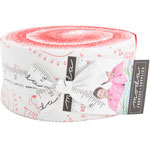 Moda REDiculously In Love Jelly Roll by Me & My Sister Designs
