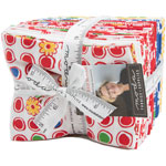 Moda Feed Sacks Red Rover Fat Quarter Bundle by Linzee Kull McCray