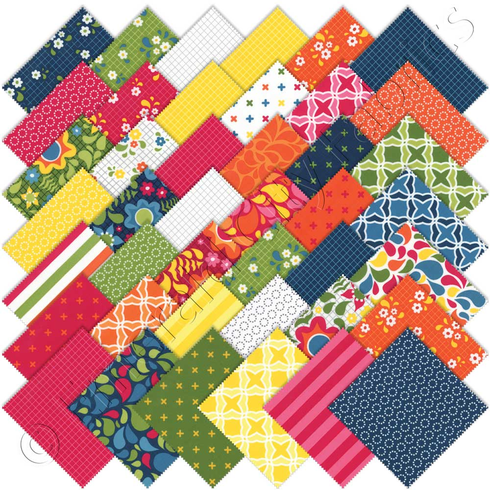 Quilt Kits Moda Merrily Quilt Kit By Gingiber For Moda 752106338784 Darling Little Dickens