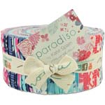 Moda Kate Spain Paradiso Jelly Roll, 40 2.5x44-inch Cotton Fabric Strips