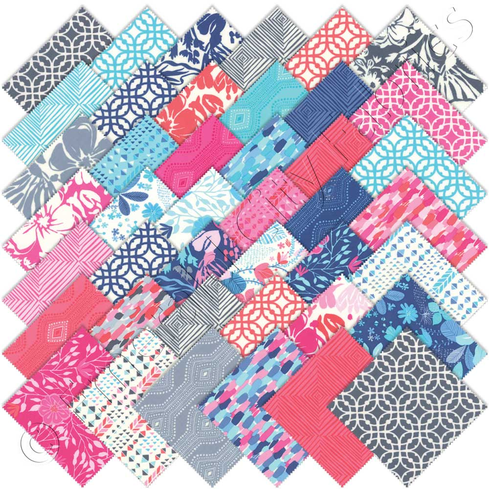 Moda Kate Spain Paradiso Charm Pack | Emerald City Fabrics