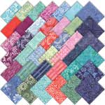 Moda Latitude Batiks Charm Pack by Kate Spain