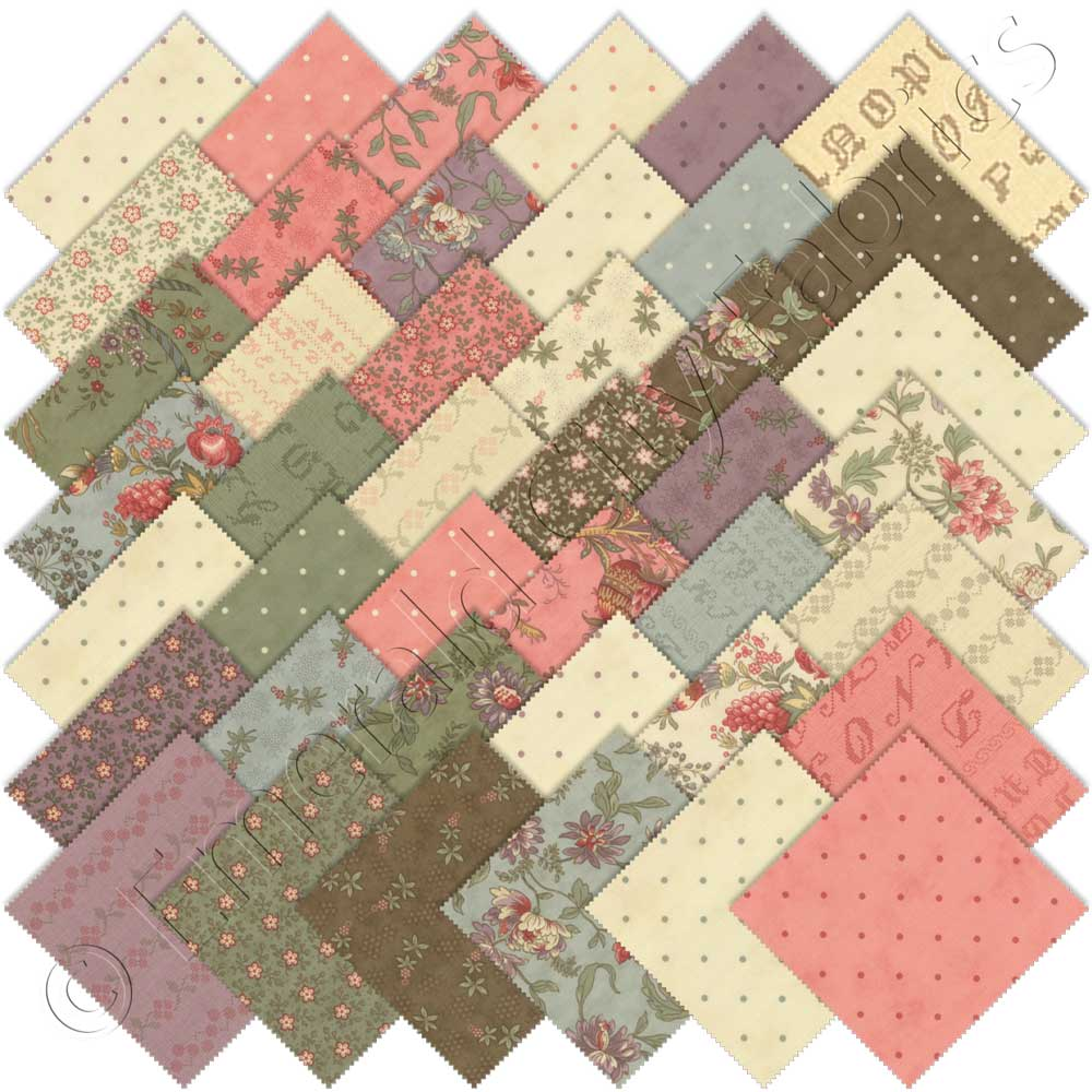 Moda Hyde Park Charm Pack | Emerald City Fabrics : moda quilting fabric - Adamdwight.com