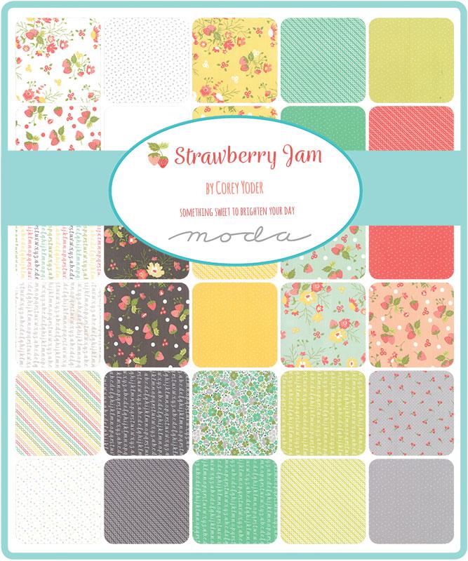 Strawberry Jam by Corey Yoder for Moda Fabrics Layer Cake