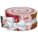 Moda Sugar Plum Christmas Jelly Roll by Bunny Hill Designs