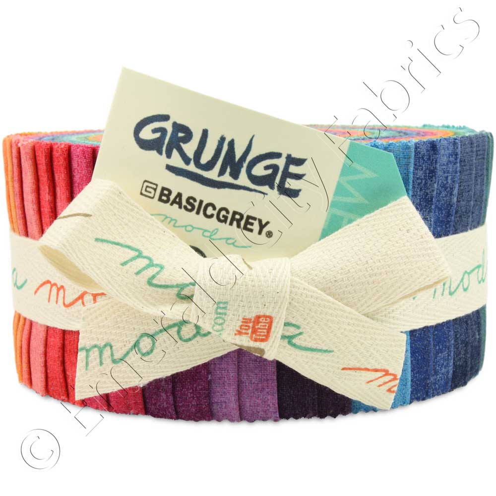 Moda Grunge by Basic Grey New Colors Jelly Roll