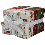 Moda Winter Village Fat Quarter Bundle by Basic Grey