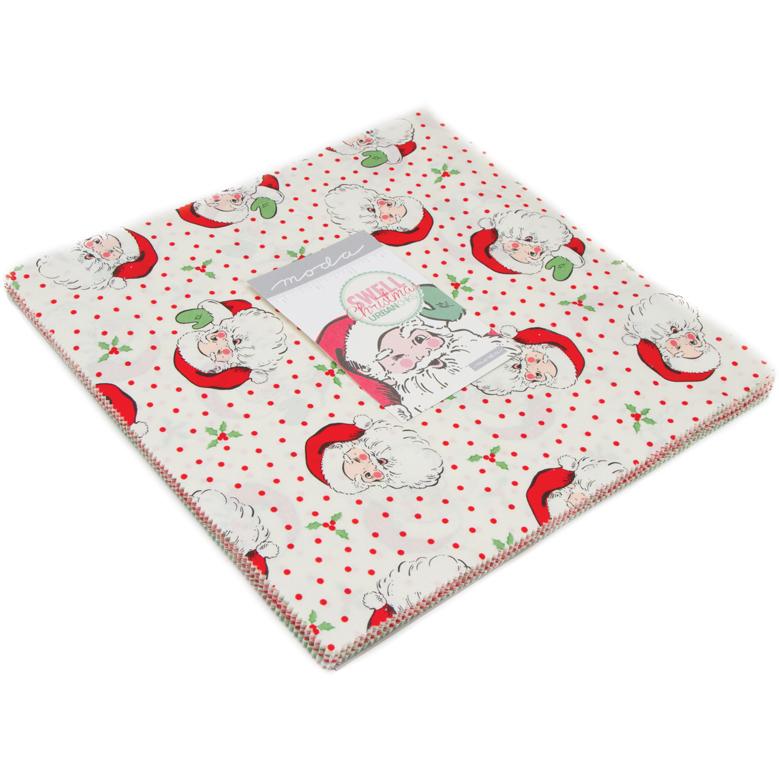 Moda Christmas Fabric 2019.Moda Swell Christmas Layer Cake By Urban Chiks 31120lc