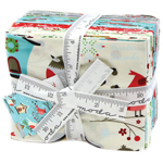 Moda Jingle Birds Fat Quarter Bundle by Keiki