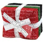 Moda Merry Scriptmas Fat Quarter Bundle