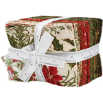Moda Gilded Greenery Metallic Fat Quarter Bundle