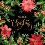 Moda Gradients Holiday Merry Christmas Fabric Panel