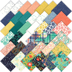 Moda Midnight Garden Charm Pack by One Canoe Two