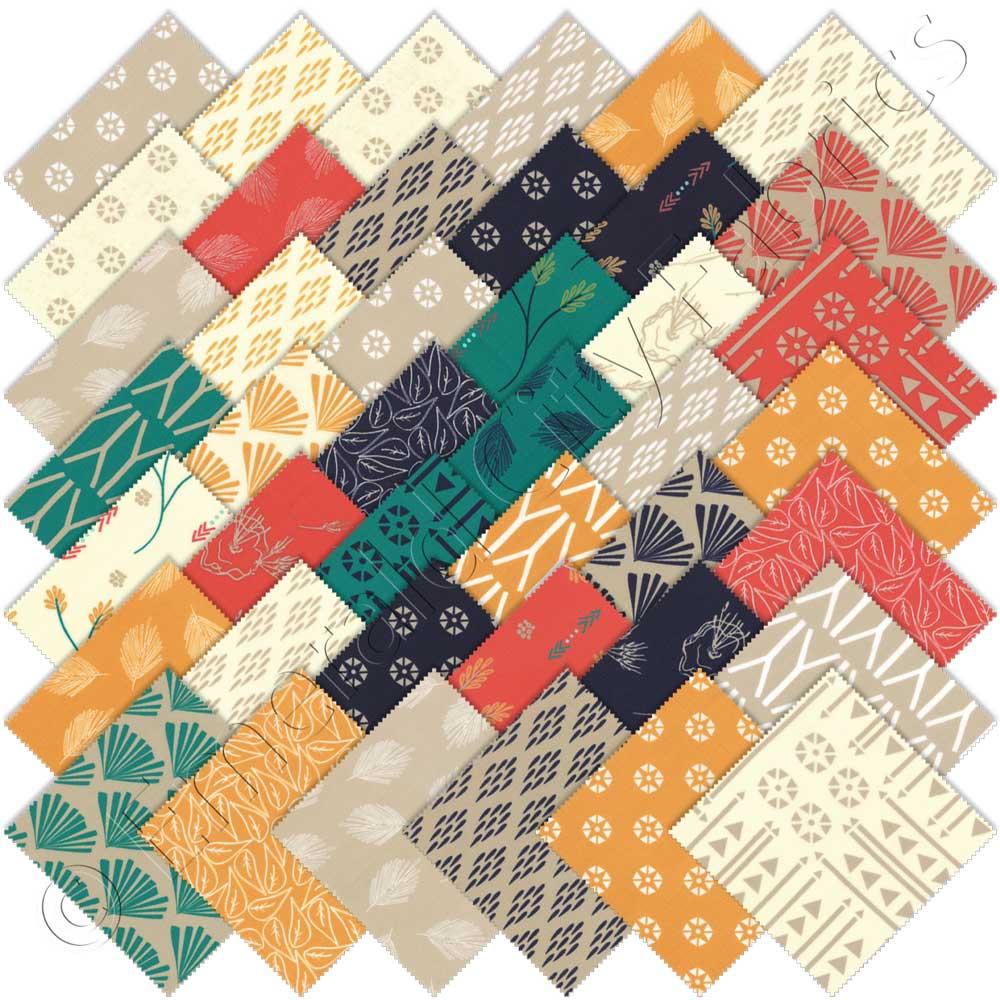 Moda Valley Charm Pack Emerald City Fabrics