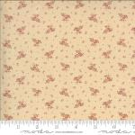 Moda Hopewell Leaf Berry Cream Pink Fabric by Jo Morton