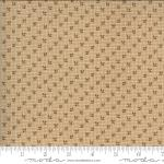 Moda Hopewell Tri Leaf Light Tan Fabric by Jo Morton