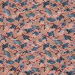 Northcott Stonehenge Old Glory Stars and Stripes American Flags Red Fabric