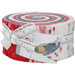 Moda Sno Jelly Roll by Wenche Wolff Hatling