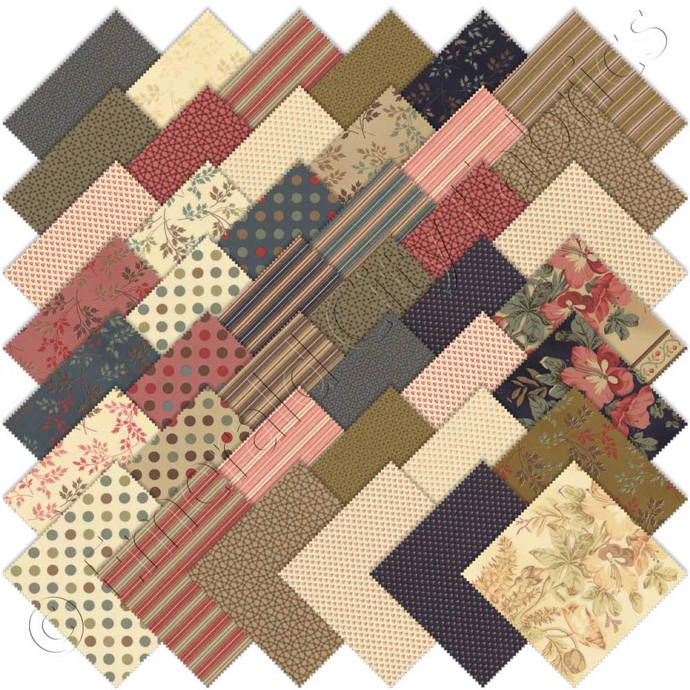 Moda Southern Exposure Prints Charm Pack | Emerald City Fabrics : southern quilts - Adamdwight.com