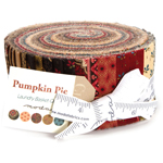 Moda Pumpkin Pie Prints Jelly Roll by Laundry Basket Quilts