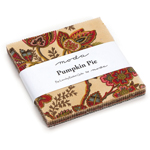 Moda Pumpkin Pie Prints Charm Pack by Laundry Basket Quilts