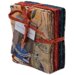 Moda Sweet Blend Batiks Fat Quarter Bundle by Laundry Basket Quilts