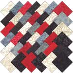 Moda Fire and Ice Batiks Charm Pack Fabric Squares