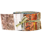 Moda Bear Creek Batiks Jelly Roll
