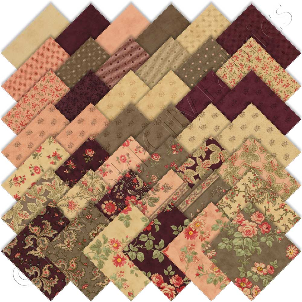 Moda Courtyard Charm Pack By 3 Sisters Emerald City Fabrics