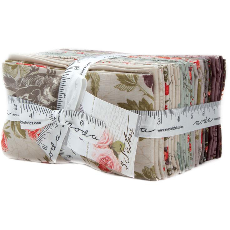 Victoria Fat Eighth Fabric Bundle 3 Sisters Moda