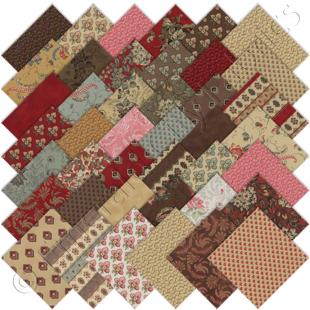 Moda collection for a cause community 1840 charm pack for Quilting material