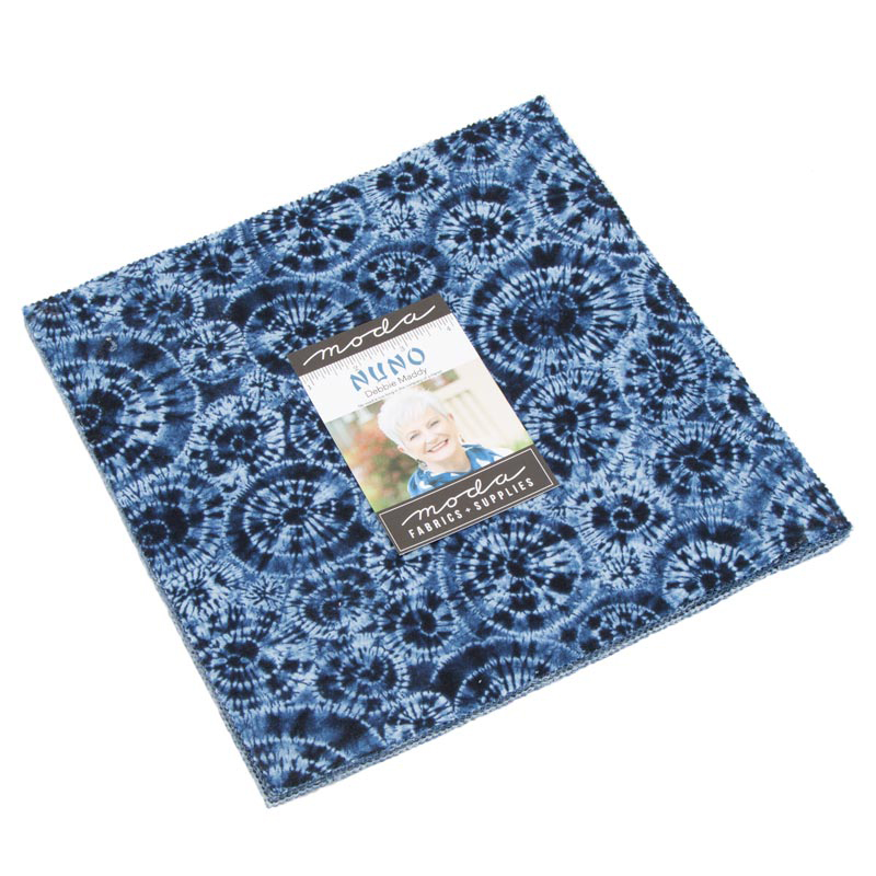 Moda Nuno Fat Eighth Bundle by Debbie Maddy of Calico Carriage Quilt Designs