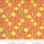 Moda Solana Stalks Clementine Fabric by Robin Pickens