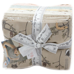 Moda Hushabye Hollow Prints Fat Quarter Bundle by Lydia Nelson of Dreamy Quilts