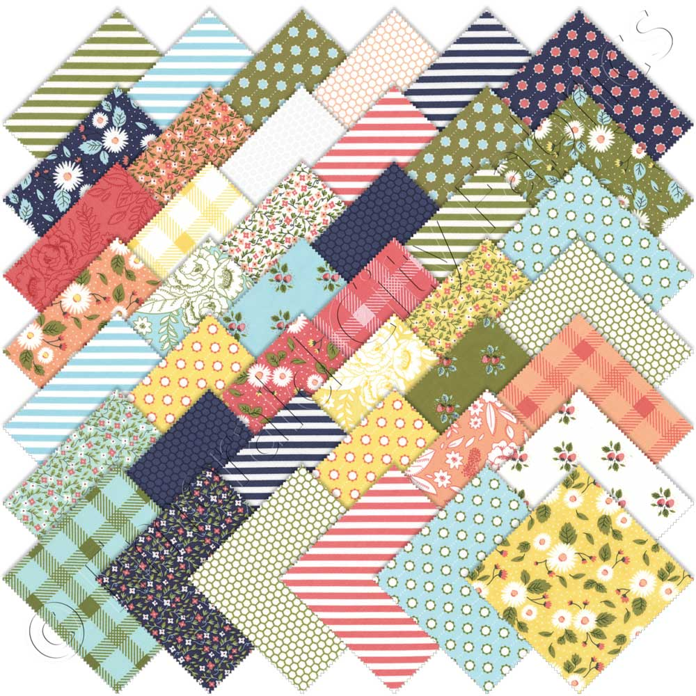 Moda Little Miss Sunshine Charm Pack | Emerald City Fabrics