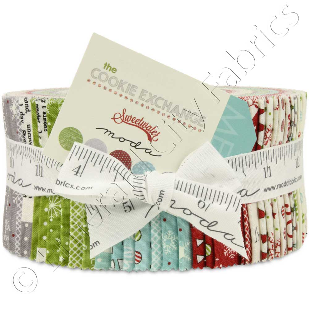Moda The Cookie Exchange Jelly Roll Emerald City Fabrics
