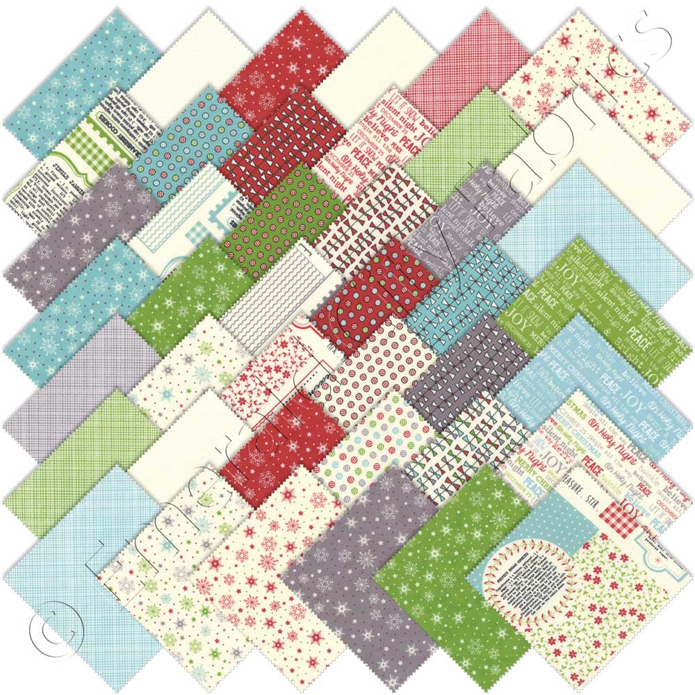 Moda The Cookie Exchange Charm Pack Emerald City Fabrics