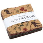 Moda Return To Cub Lake Flannel Charm Pack by Holly Taylor